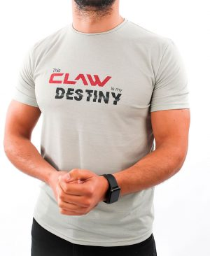 T-shirt B4 - cool gray - Claw